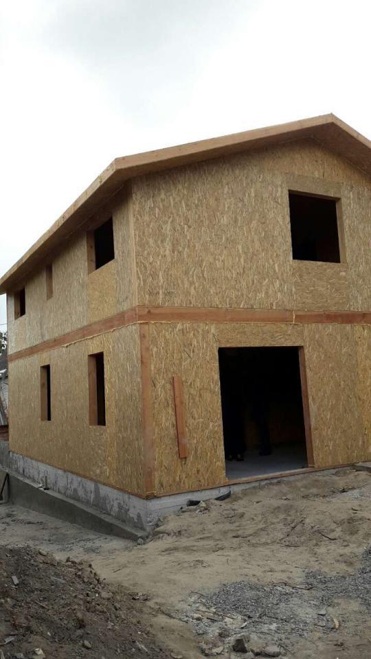 Строительство дома из-сип-панелей 141 м.кв в город Киев - фото 10