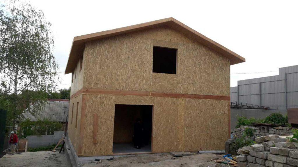 Строительство дома из-сип-панелей 141 м.кв в город Киев - фото 9