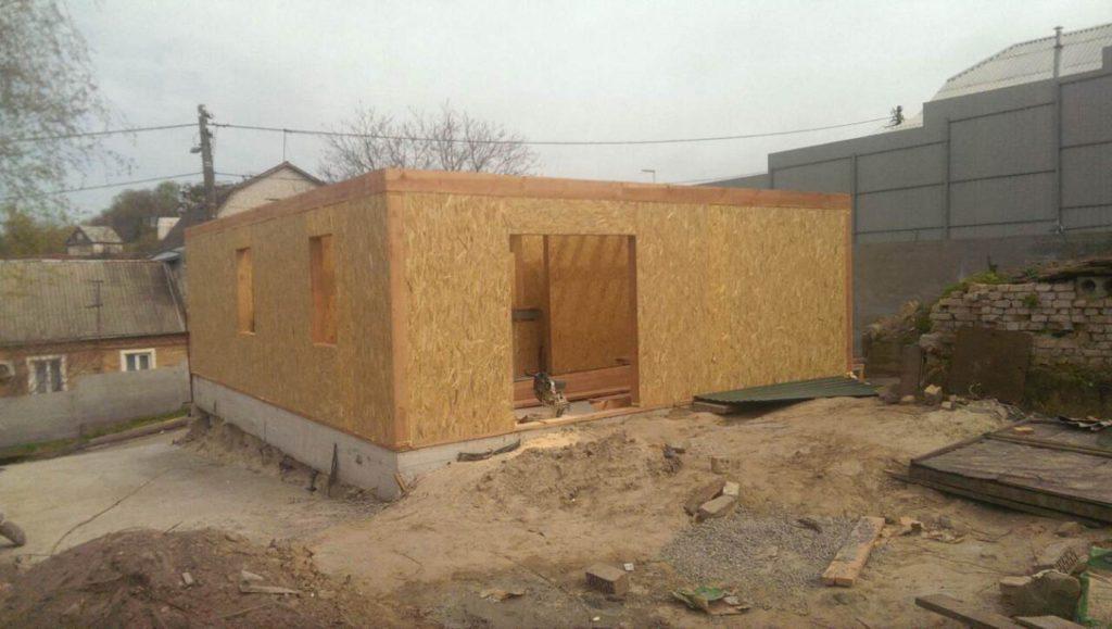 Строительство дома из-сип-панелей 141 м.кв в город Киев - фото 7