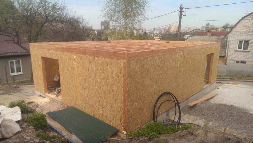 Строительство дома из-сип-панелей 141 м.кв в город Киев - фото 6