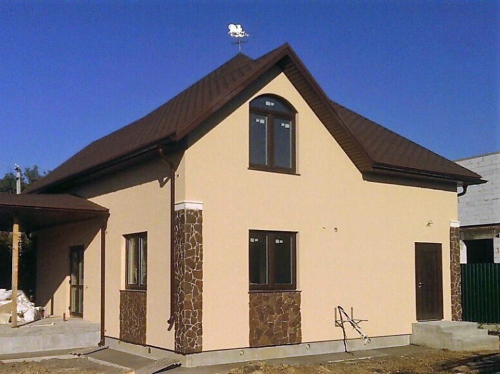 Дом из-сип-панелей 171 м2 в поселке Белогородка - фото 4
