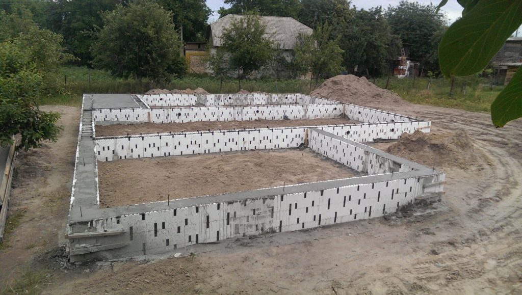 Дом из-сип-панелей 171 м2 фундамент