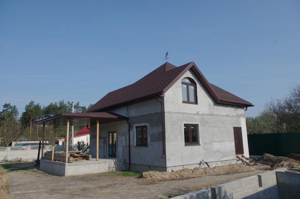 Дом из-сип-панелей 171 м2 в поселке Белогородка - фото 6