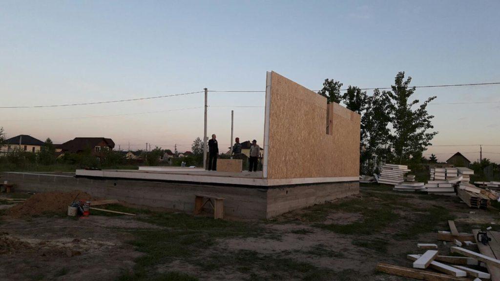 Постройка дома из-сип-панелей 191 м2 в селе Новое - фото 11