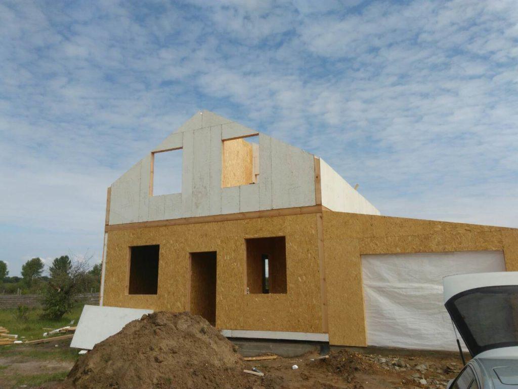 Постройка дома из-сип-панелей 191 м2 в селе Новое - фото 13