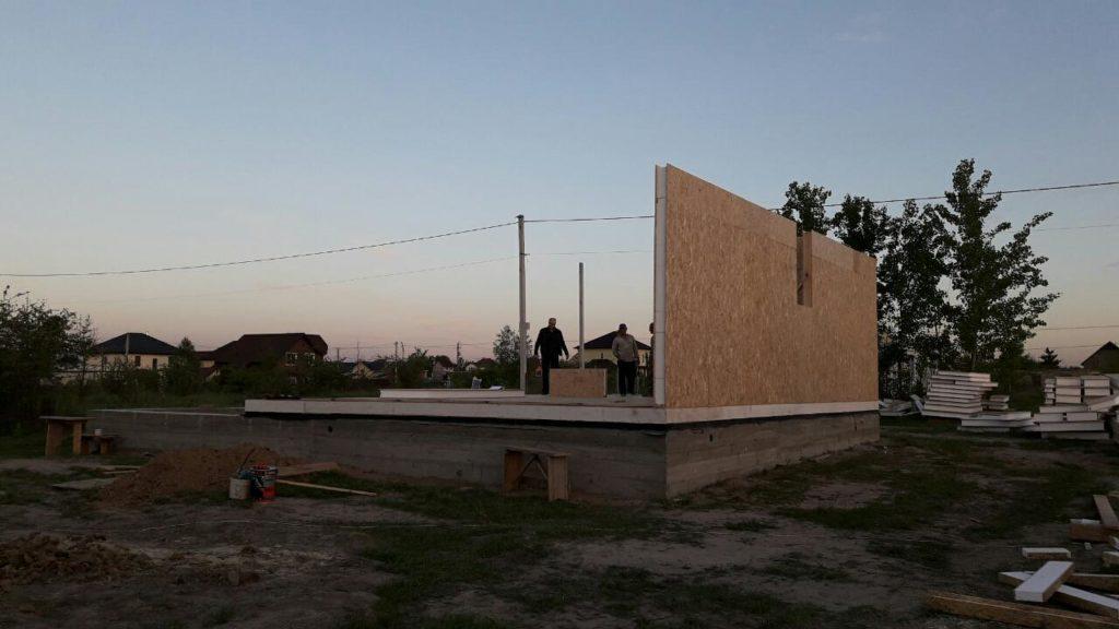 Постройка дома из-сип-панелей 191 м2 в селе Новое - фото 10