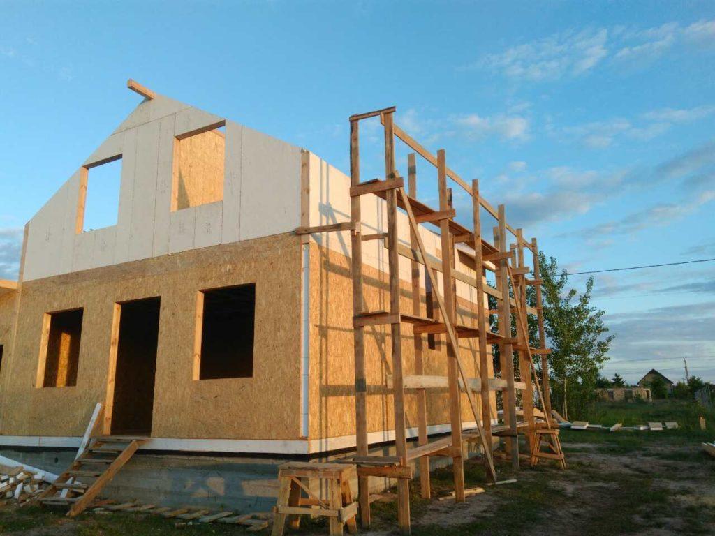 Постройка дома из-сип-панелей 191 м2 в селе Новое - фото 3