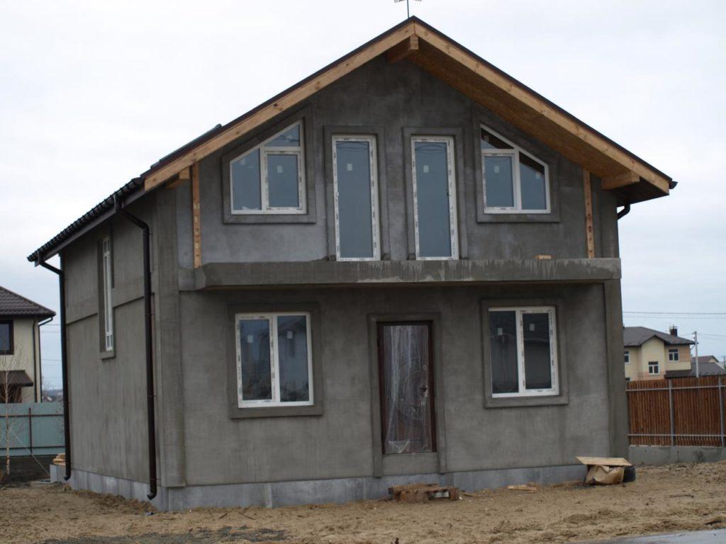 Строительство дома из сип панелей площадью 147м2 с. Осещина - фото 10
