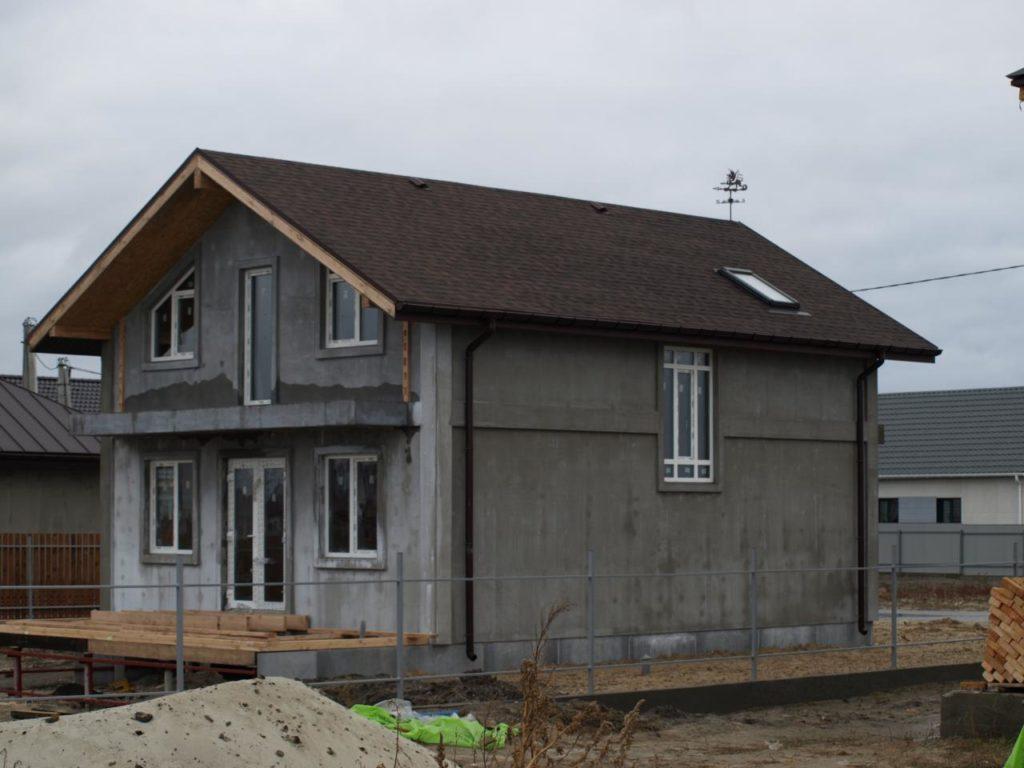 Строительство дома из сип панелей площадью 147м2 с. Осещина - фото 9
