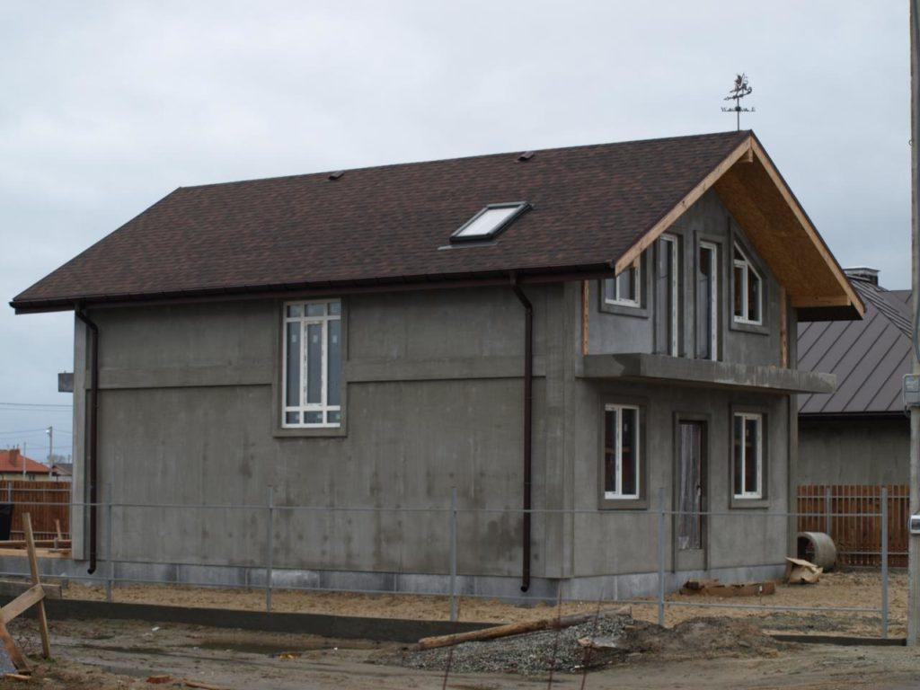 Строительство дома из сип панелей площадью 147м2 с. Осещина - фото 7