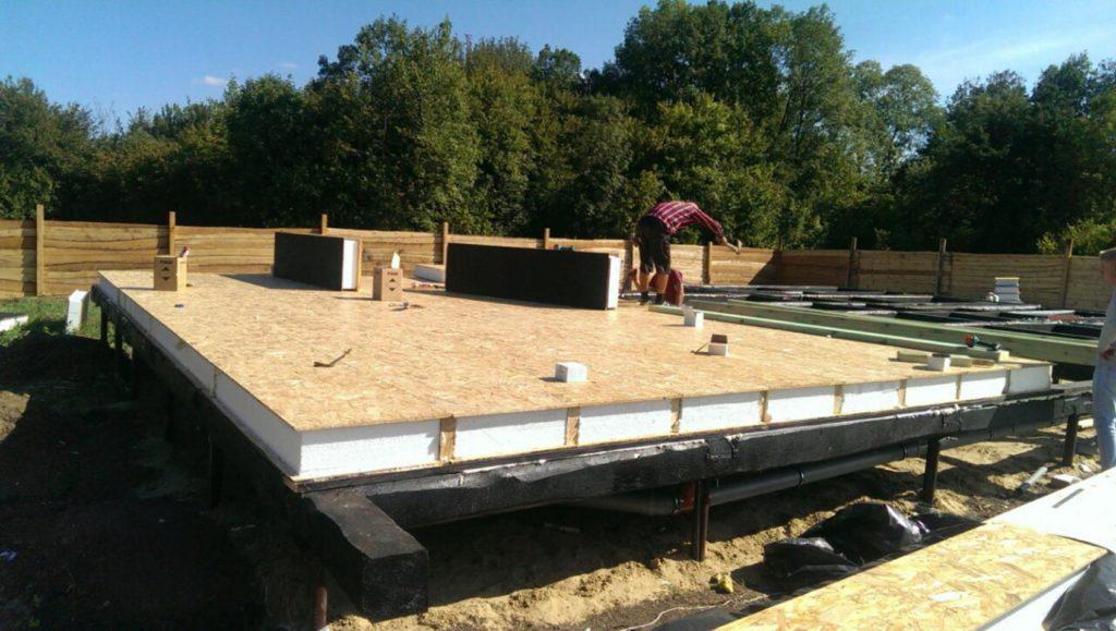 Строительство дома из сип панелей площадью 147м2 с. Осещина - фото 3