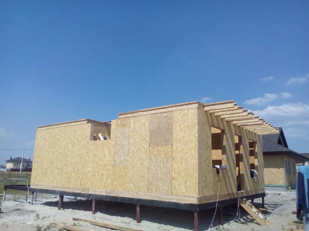 Строительство дома из сип панелей площадью 147м2 с. Осещина - фото 15