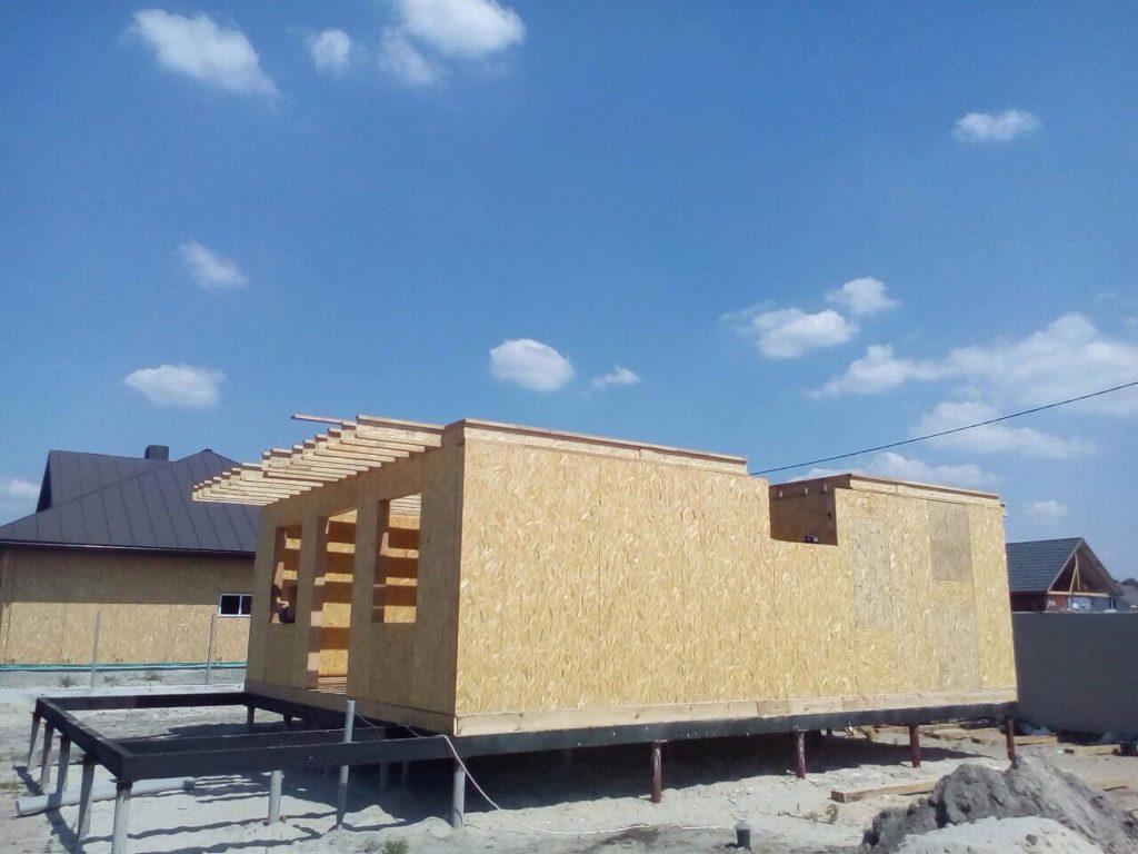 Строительство дома из сип панелей площадью 147м2 с. Осещина - фото 14