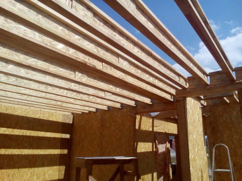 Строительство дома из сип панелей площадью 147м2 с. Осещина - фото 13