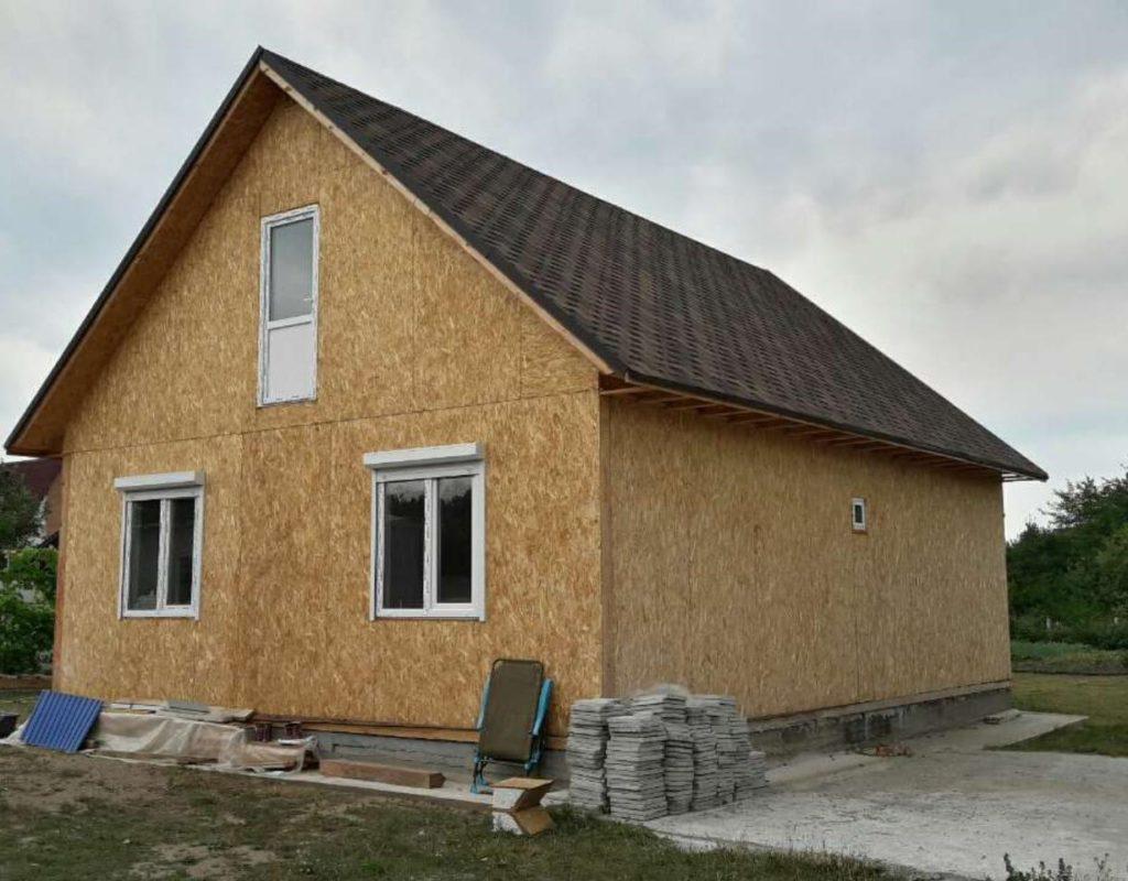 Дом из сип панелей площадью 78 м.кв село Хотяновка - фото 7