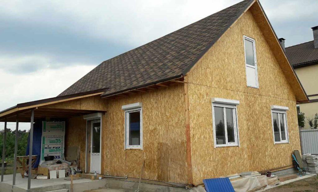 Дом из сип панелей площадью 78 м.кв село Хотяновка - фото 5