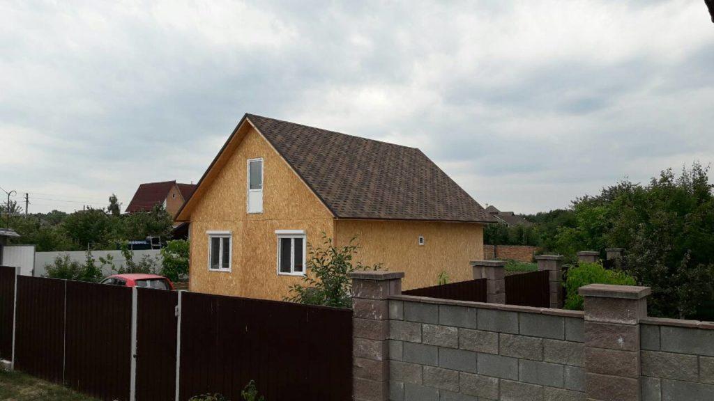 Дом из сип панелей площадью 78 м.кв село Хотяновка - фото 4