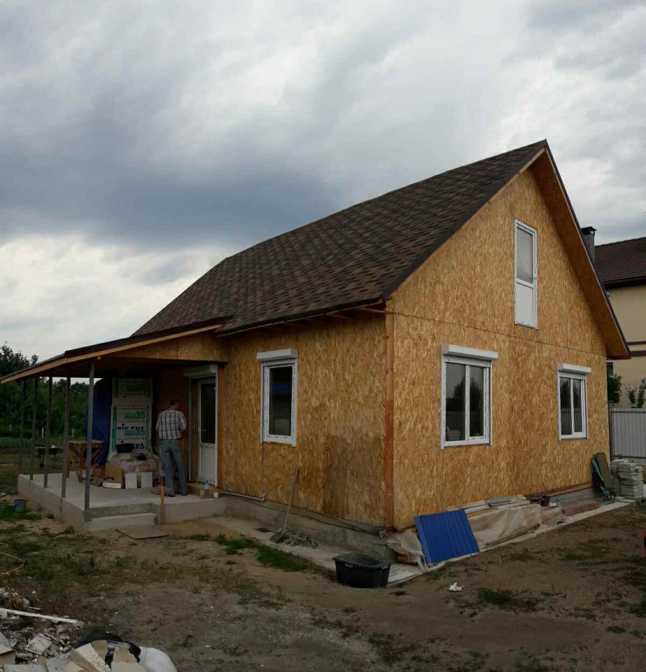 Дом из сип панелей площадью 78 м.кв село Хотяновка - фото 3
