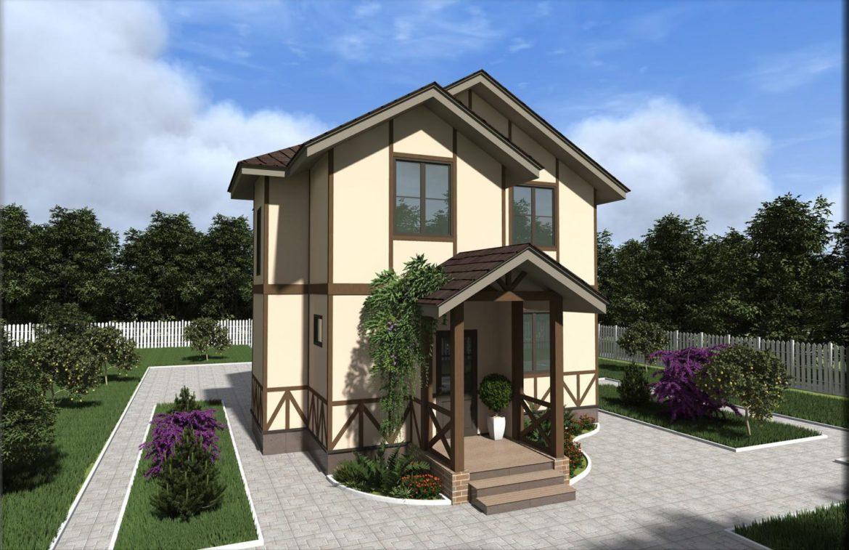 Дом из сип панелей п. Вишневый хуторок 97,7 м2 - фото 4