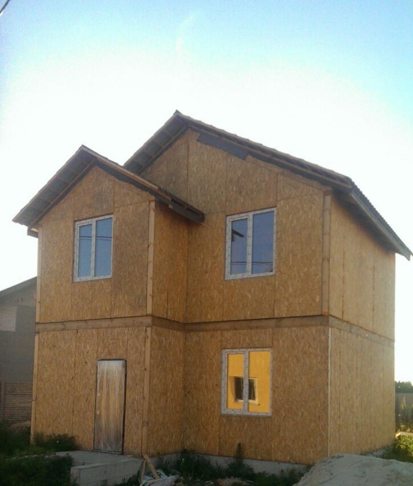 Дом из сип панелей п. Вишневый хуторок 97,7 м2 - фото 7