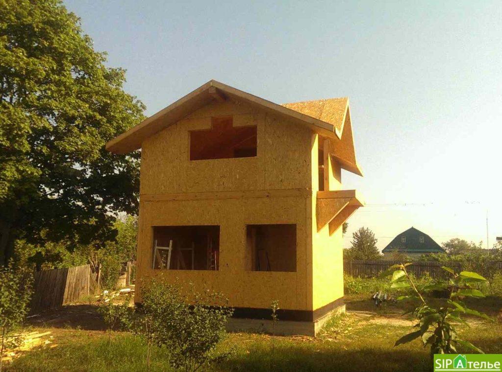 Маленький дом из сип панелей 50м2 для молодой семьи - фото 4
