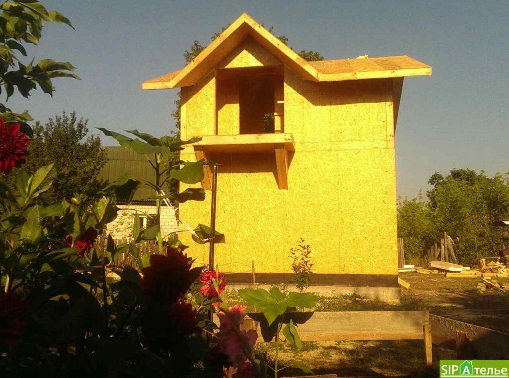 Маленький дом из сип панелей 50м2 для молодой семьи - фото 3