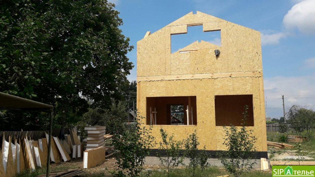 Маленький дом из сип панелей 50м2 для молодой семьи - фото 2