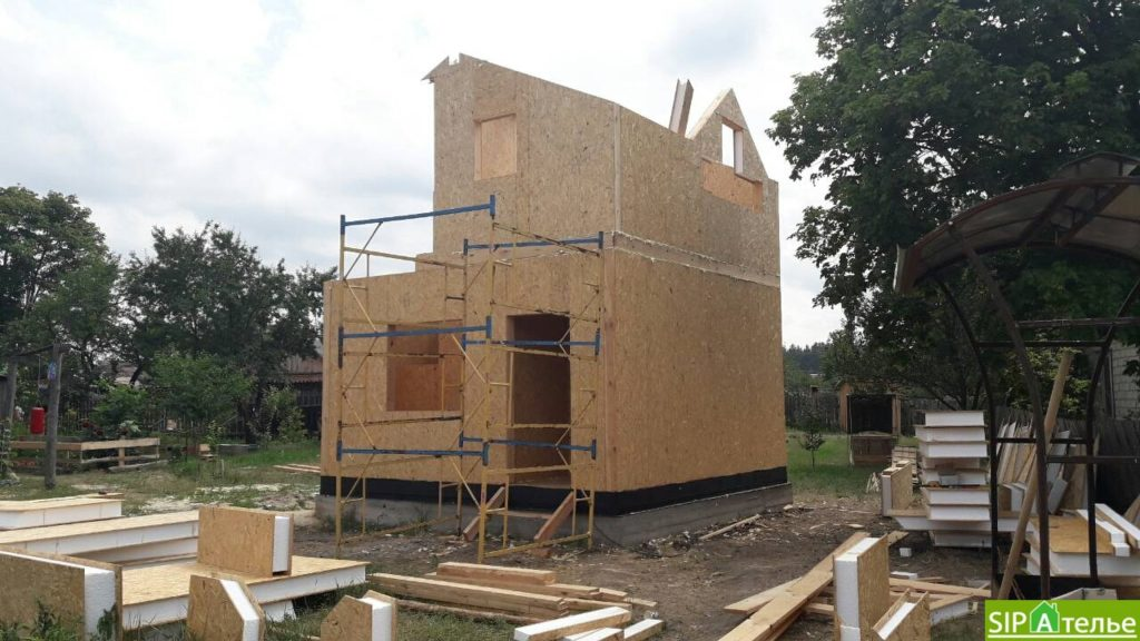 Маленький дом из сип панелей 50м2 для молодой семьи - фото 8