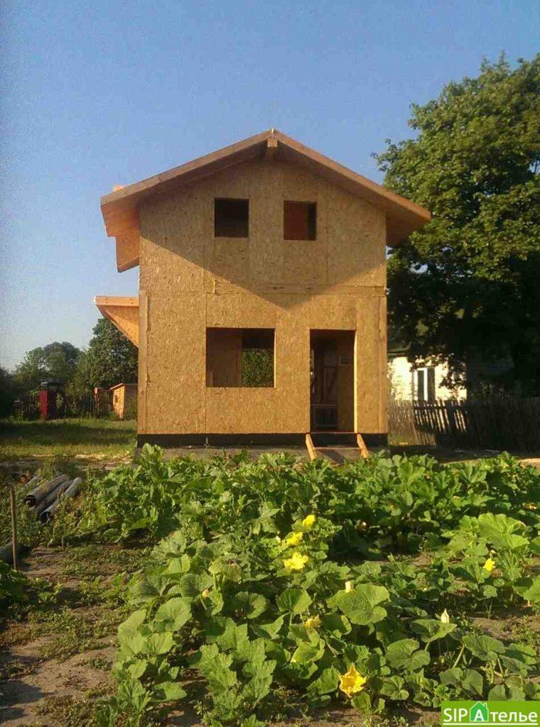 Маленький дом из сип панелей 50м2 для молодой семьи - фото 1