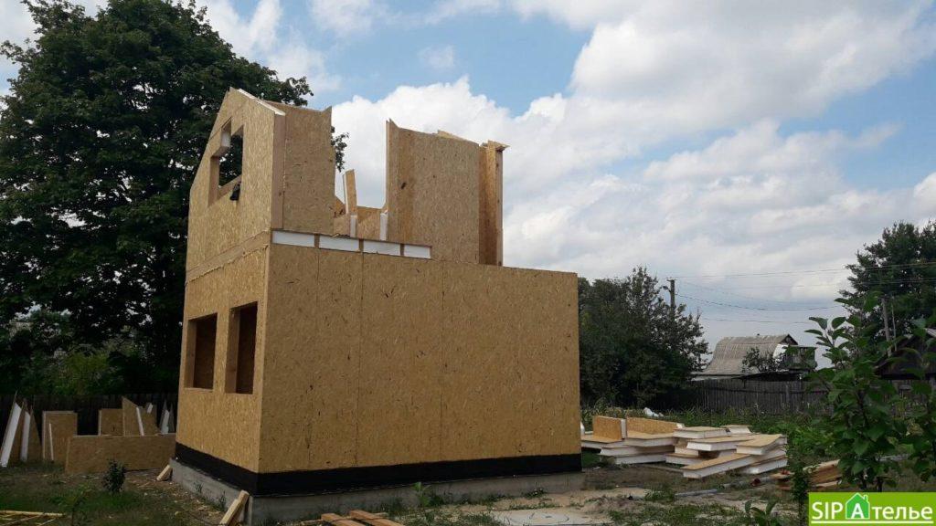 Маленький дом из сип панелей 50м2 для молодой семьи - фото 6