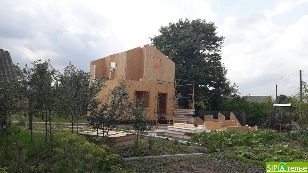 Маленький дом из сип панелей 50м2 для молодой семьи - фото 5