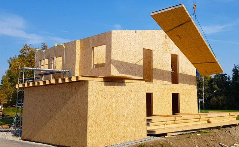 строительство домов по канадской технологии из СИП панелей