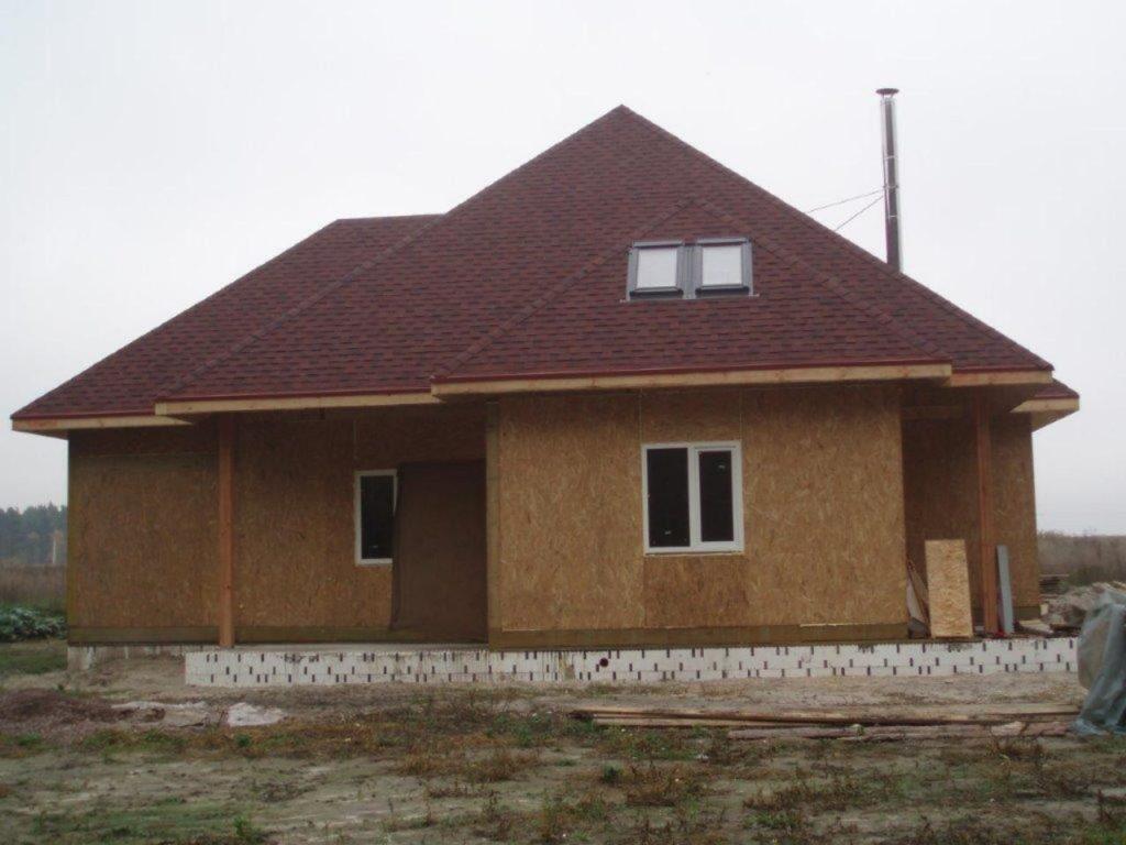 Дом со вторым светом из сип панелей - фото 6