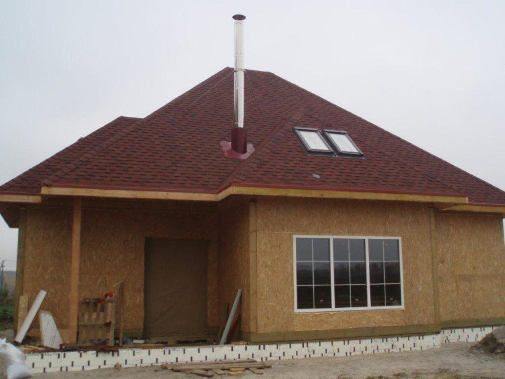 Дом со вторым светом из сип панелей - фото 5