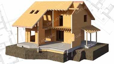 домокомплекты, коробка дома из СИП