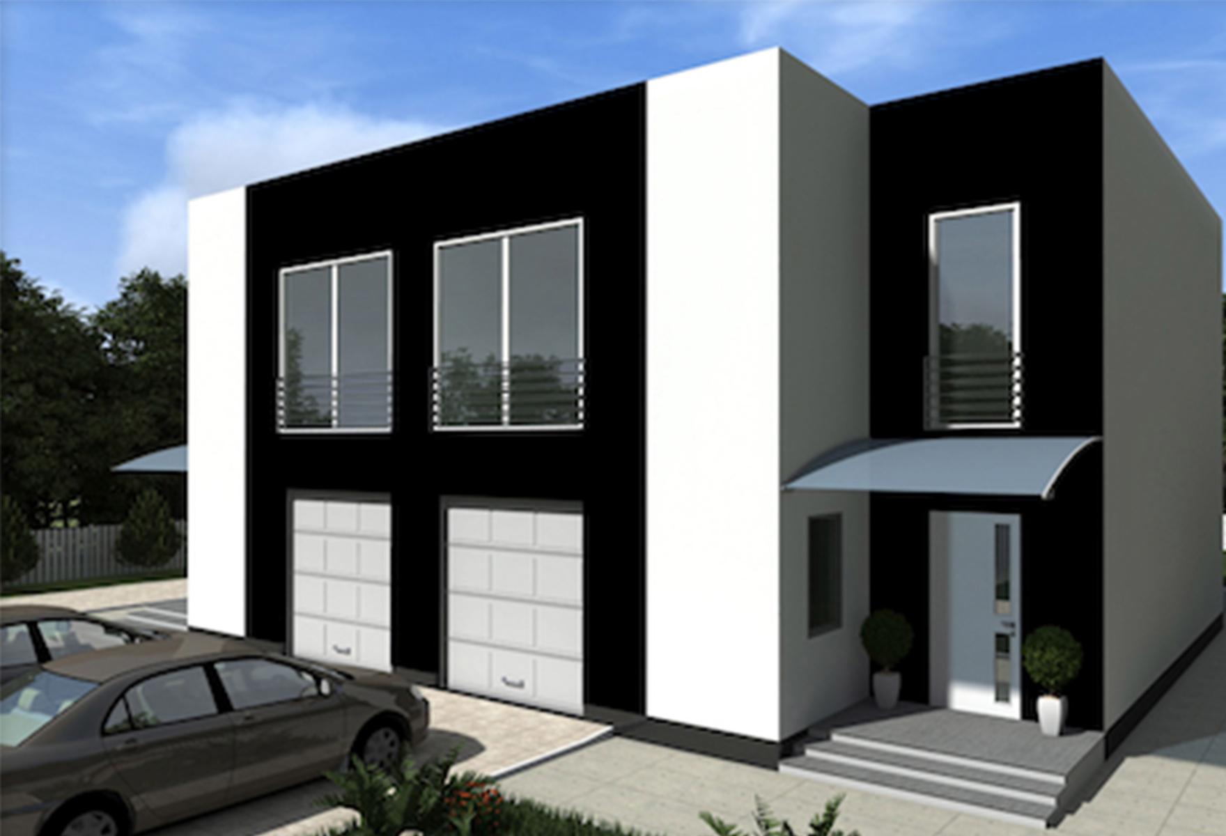 Жилой дом из СИП панелей Марк 330,54 М2