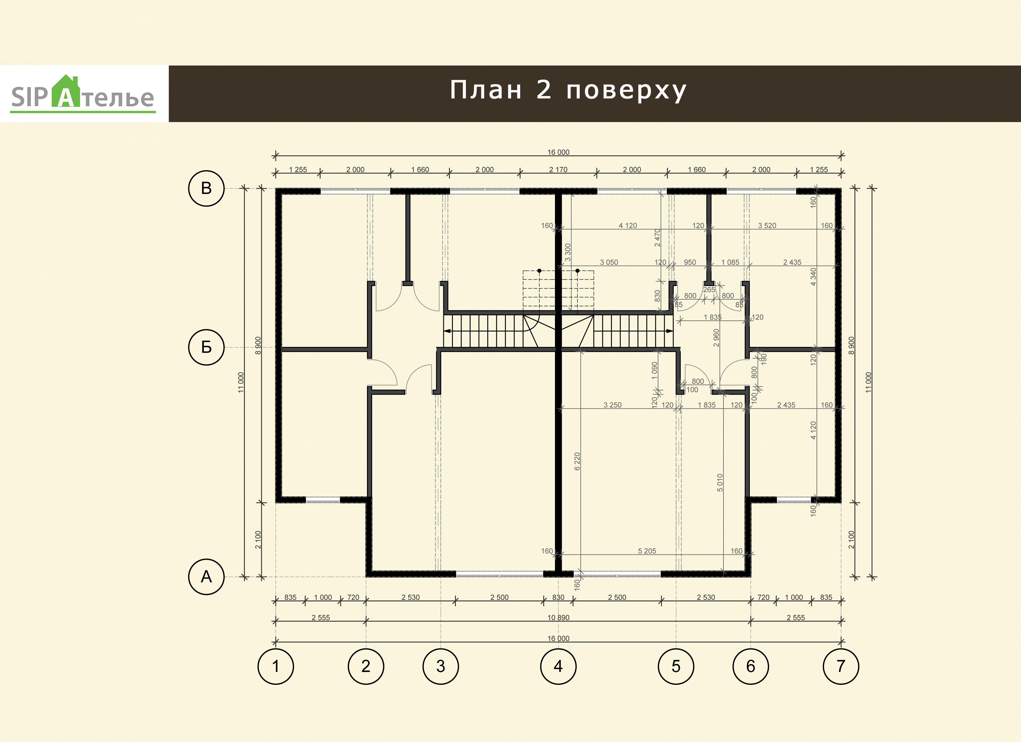 Планировка жилого дома Марк из СИП панелей