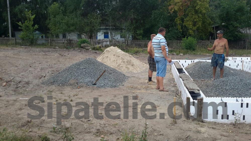 Фундаментные работы по строительству каркасного дома из СИП/SIP панелей - фото 2