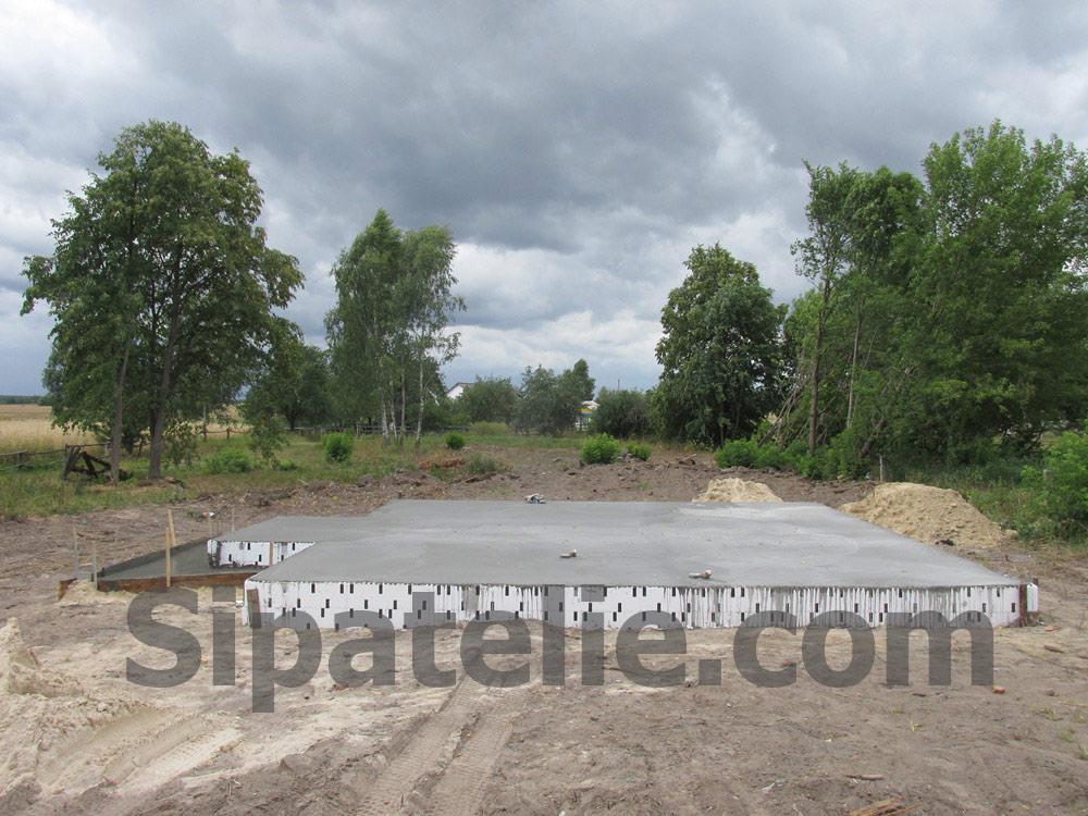 Фундаментные работы по строительству каркасного дома из СИП/SIP панелей - фото 8