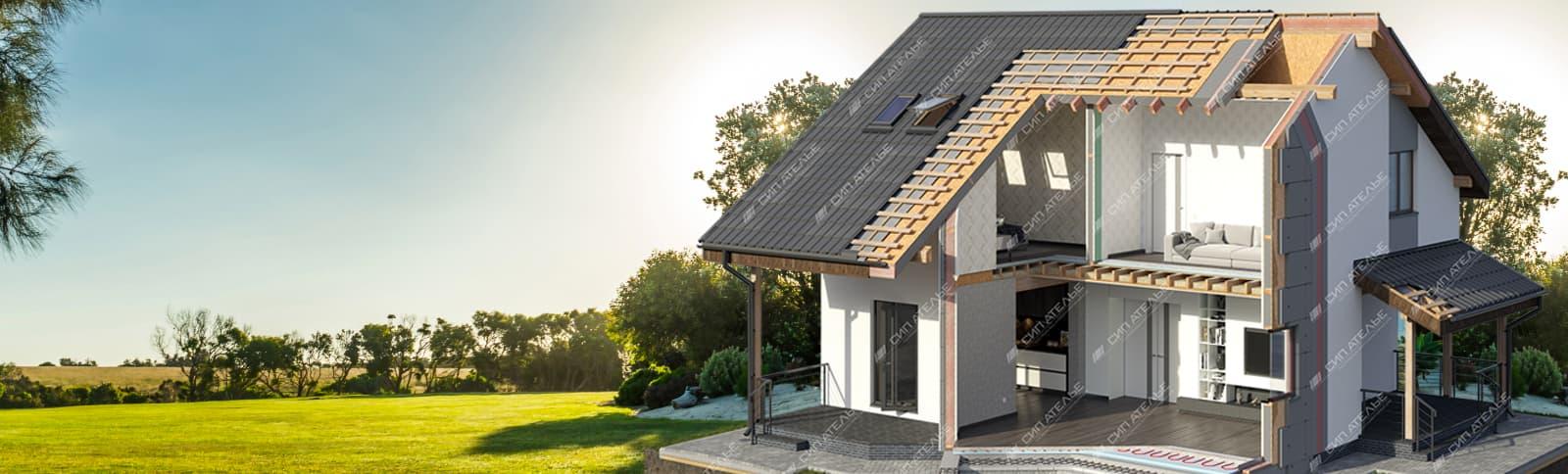 домокомплекты из СИП панелей - строительство дома под ключ