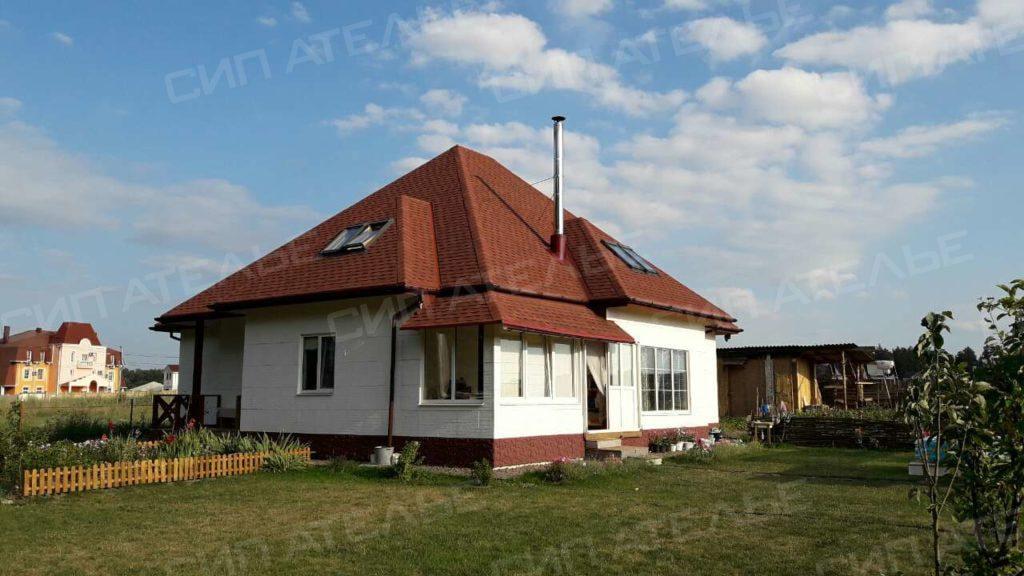 СИП дом со вторым светом - село Лесное