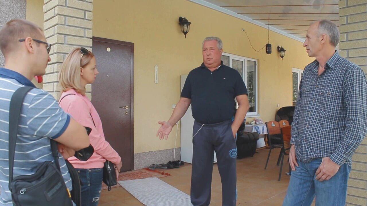 Александр Сергеевич с. Глеваха (дом сдан в 2008 году)