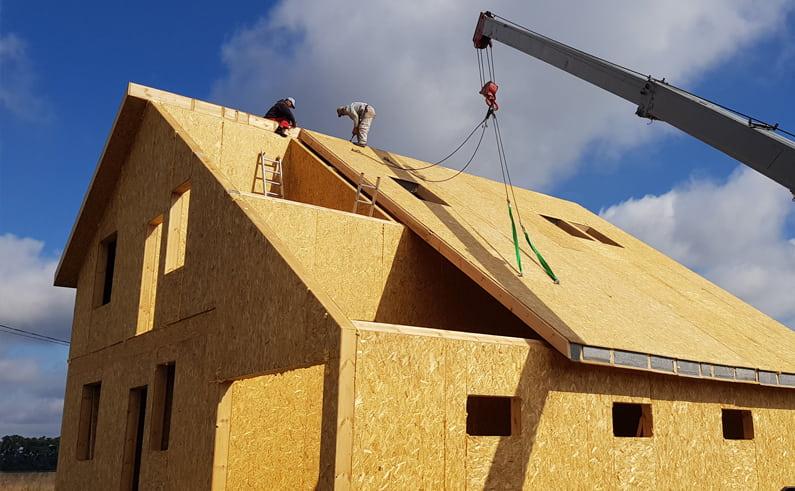 монтаж и сборка дома из сип панелей