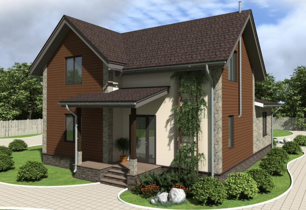 Монтаж двухэтажного дома из сип панелей 187 м.кв в селе Бабинцы - фото 4