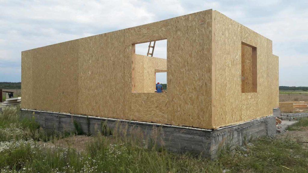 Монтаж двухэтажного дома из сип панелей 187 м.кв в селе Бабинцы - фото 6