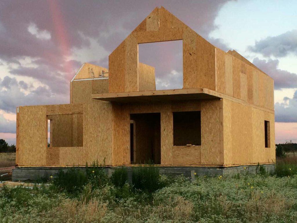 Монтаж двухэтажного дома из сип панелей 187 м.кв в селе Бабинцы - фото 5