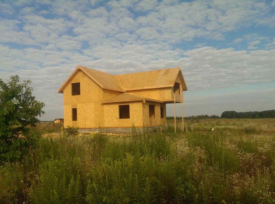 Двухэтажный дом из сип панелей 187 м.кв в селе Бабинцы - фото 2