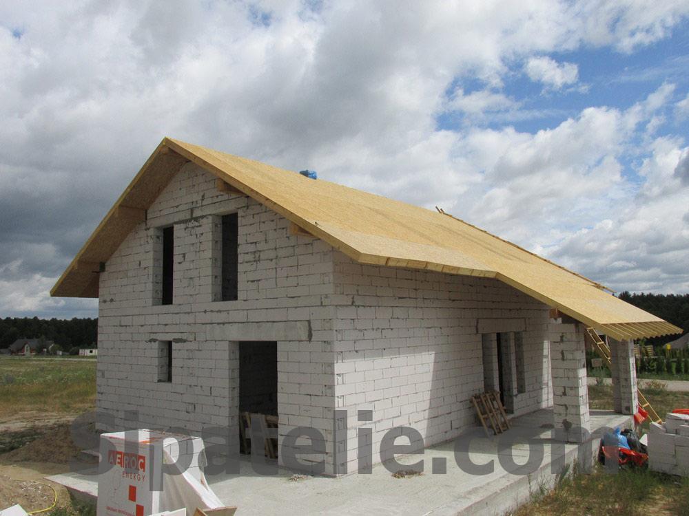 Монтаж крыши из СИП/SIP панелей на доме из газобетона - фото 12