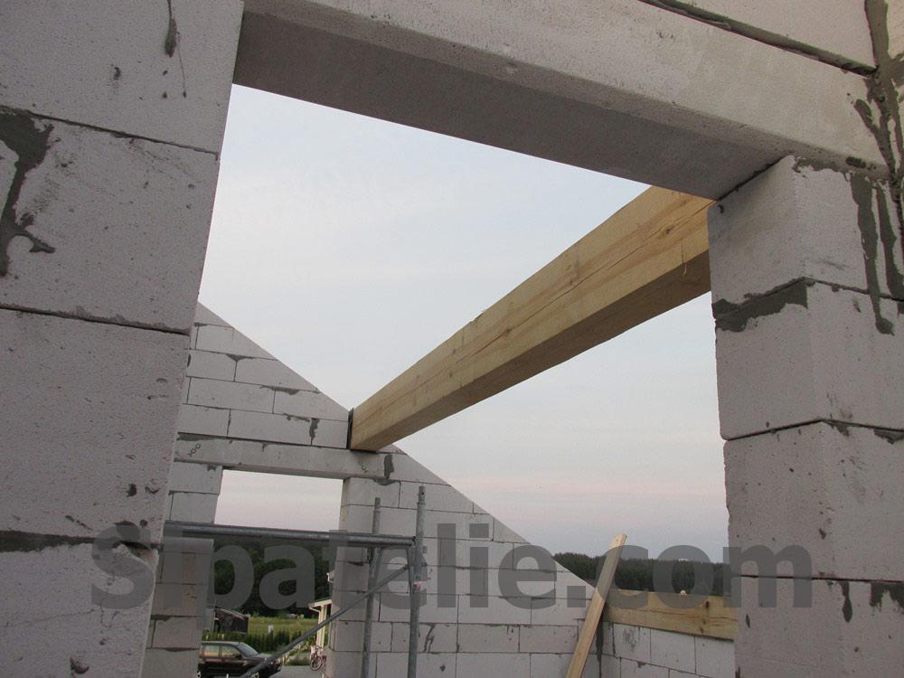 Монтаж крыши из СИП/SIP панелей на доме из газобетона - фото 6