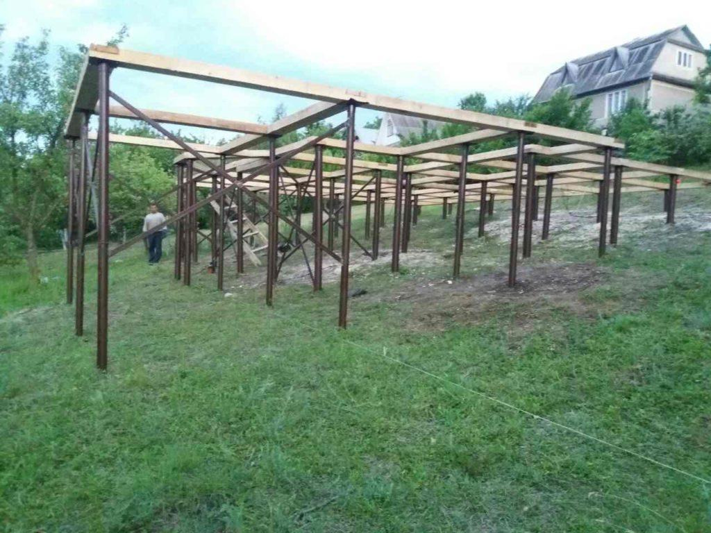 Монтаж свайного фундамента в Черновицкой области - фото 2